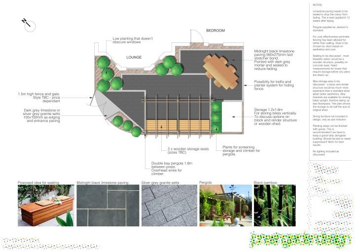 Garden design Bournemouth YES Landscape Consultants
